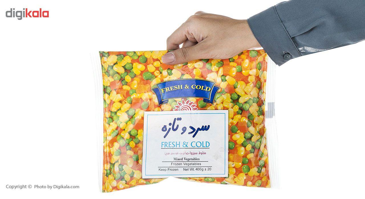مخلوط سبزیجات منجمد سرد و تازه مقدار 400 گرم main 1 5