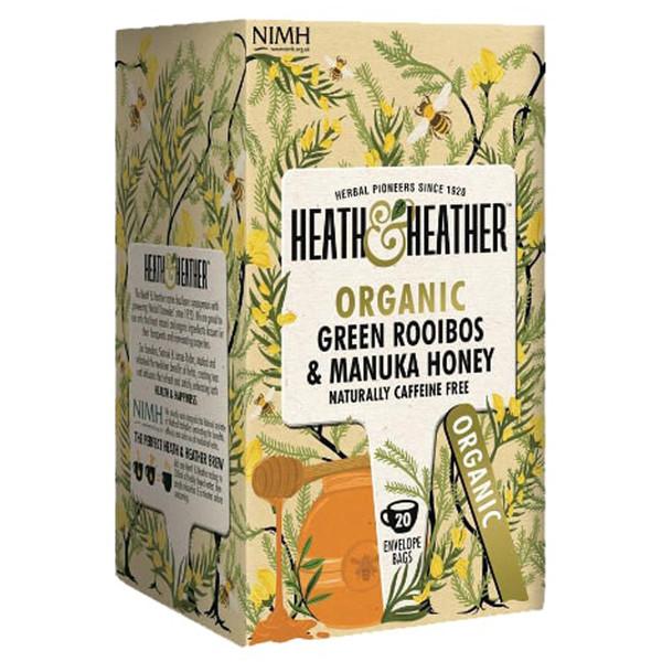 بسته دمنوش هیت و هیتر مدل Green Rooibos With Manuka Honey