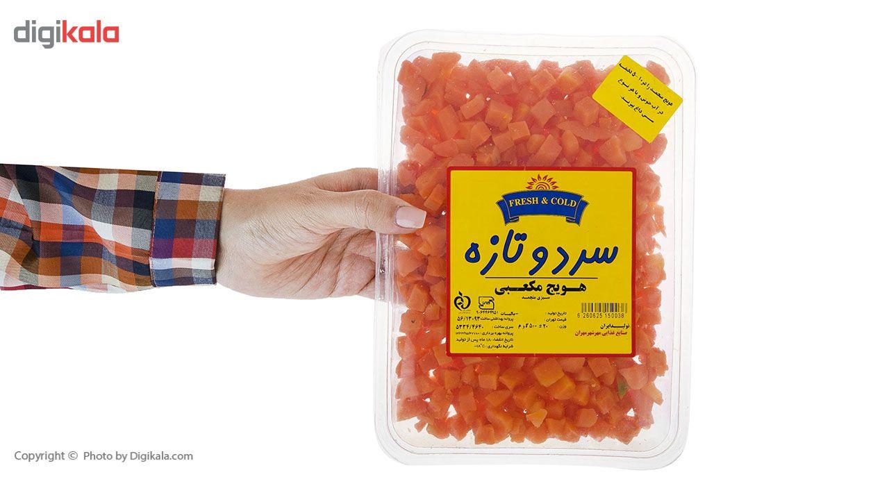 هویج منجمد سرد و تازه مقدار 500 گرم main 1 7