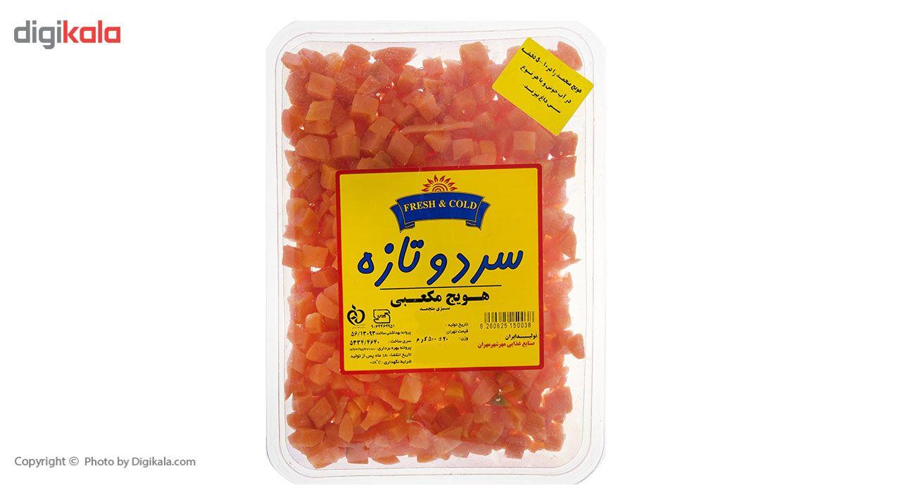 هویج منجمد سرد و تازه مقدار 500 گرم main 1 4