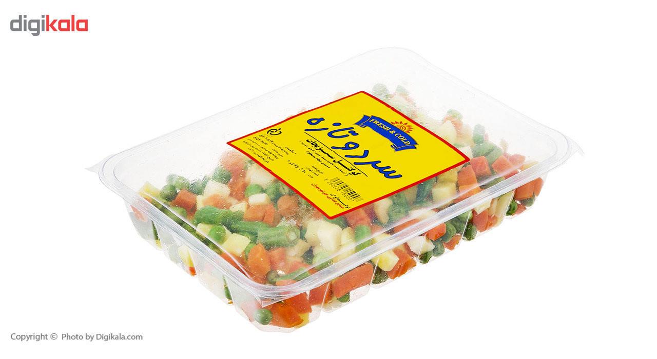 کوکتل سبزیجات منجمد سرد و تازه مقدار 450 گرم main 1 3