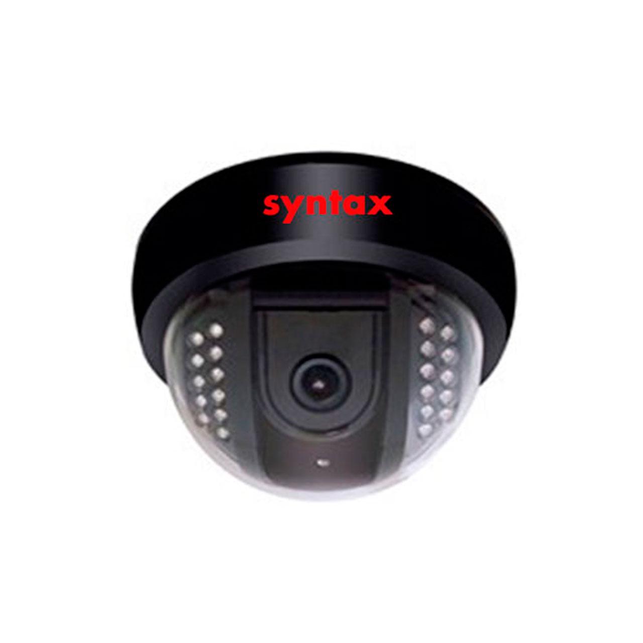 دوربین مداربسته دام مدار بسته مادون قرمز سینتکس 4201   syntax 4201 ir dome camera