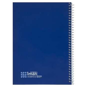 دفتر مشق 100 برگ ایمان مدل 9707 طرح 6