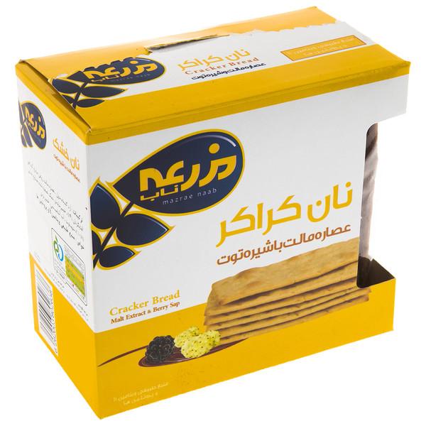 نان کراکر عصاره مالت با شیره توت مزرعه ناب - 230 گرم