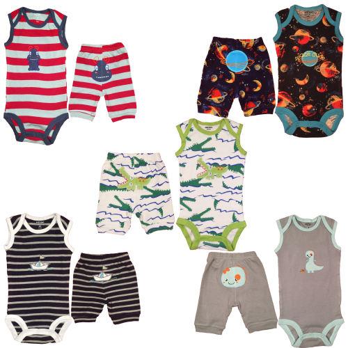 ست لباس نوزادی کارترز مدل 100550-3 مجموعه 10عددی