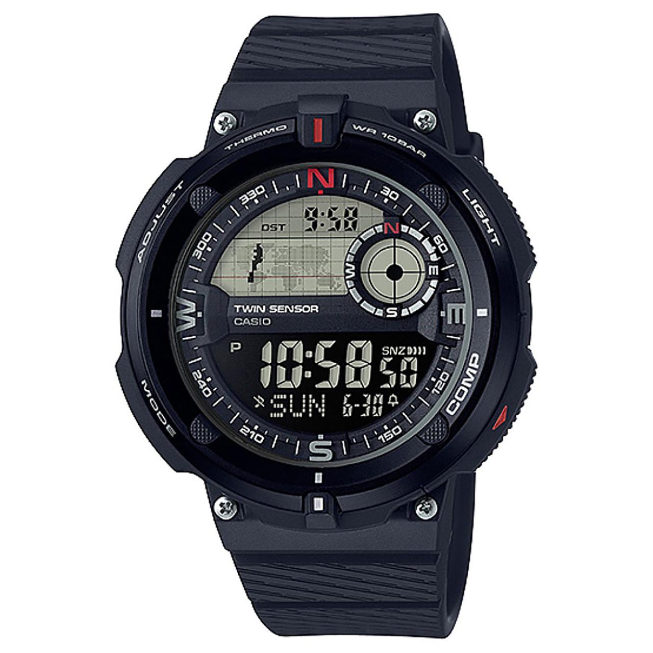 ساعت مچی دیجیتالی کاسیو مدل SGW-600H-1BDR