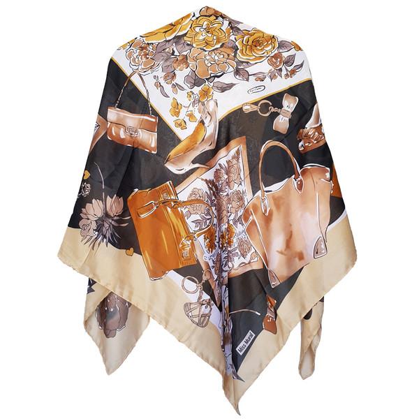 روسری روشا مدل Miss Mural کد 04