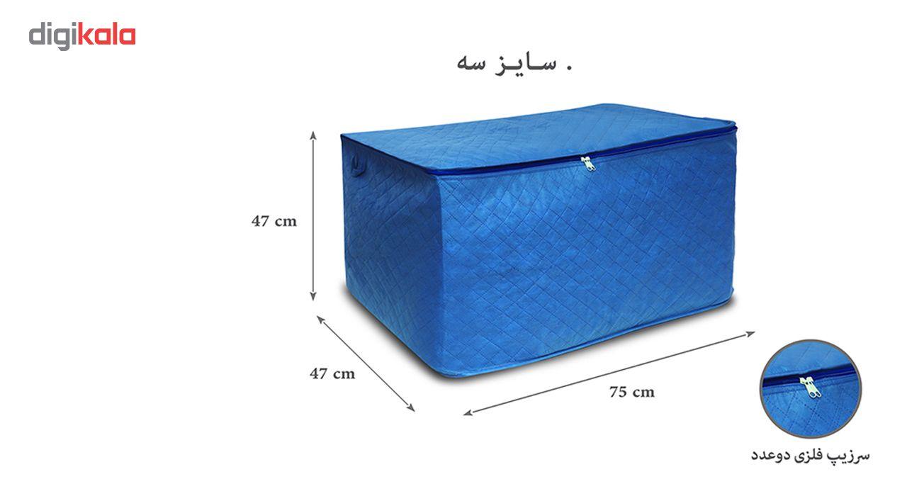 جعبه لباس سه لایه مدل 103 سایز سه main 1 1