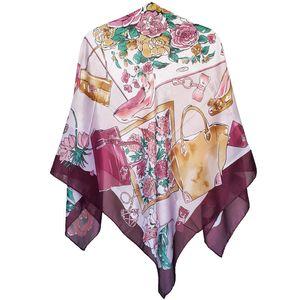 روسری روشا مدل Miss Mural کد 01