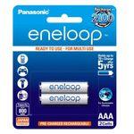 باتری نیم قلمی قابل شارژ پاناسونیک مدل eneloop بسته 2 عددی thumb