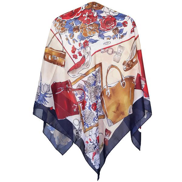 روسری روشا مدل Miss Mural کد 07