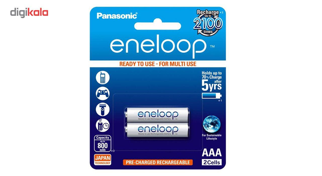 باتری نیم قلمی قابل شارژ پاناسونیک مدل eneloop بسته 2 عددی main 1 1