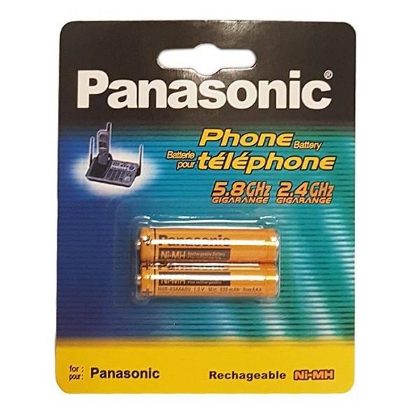 باتری نیم قلمی تلفن بی سیم پاناسونیک مدل HHR-3MRT/2BM