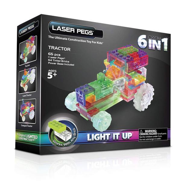 ماشین بازی لگو ساختنی برند لیزر پگز مدل 6IN1 لیزری