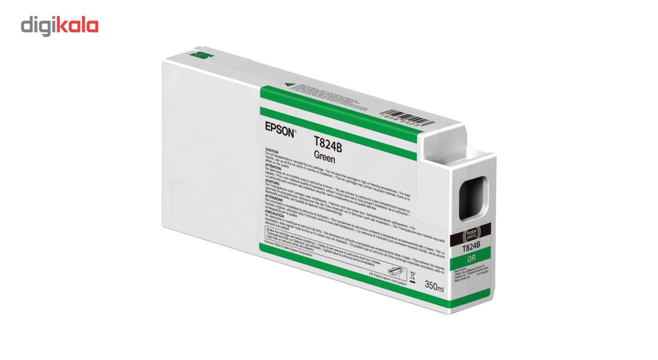 قیمت                      کارتریج سبز اپسون مدل اولتراکروم HDX T824B00 350میلی لیتر