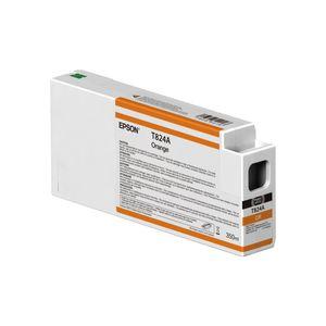 کارتریج نارنجی اپسون مدل اولتراکروم HDX T824A00 350میلی لیتر