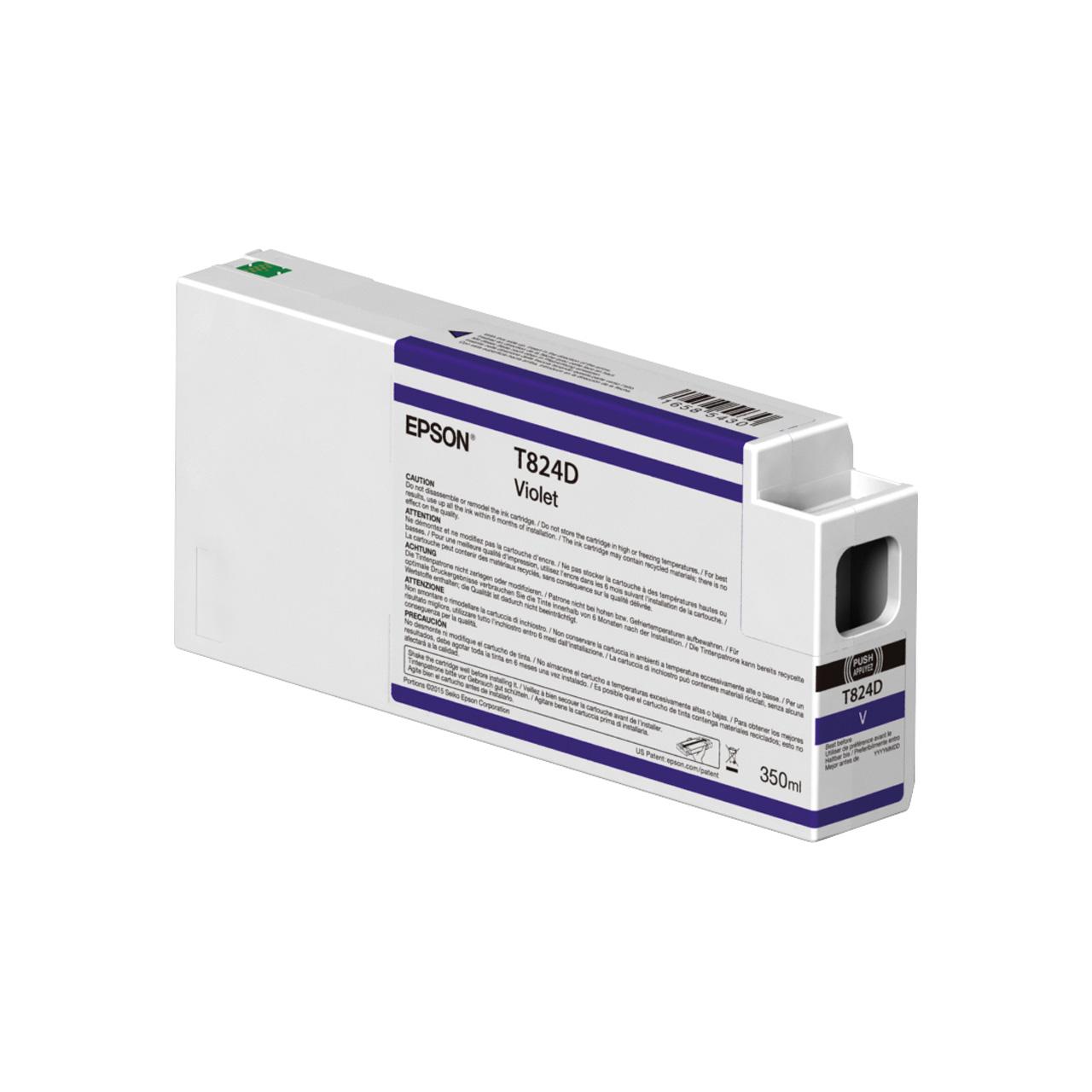 کارتریج بنفش اپسون مدل اولتراکروم HDX T824D00 350میلی لیتر