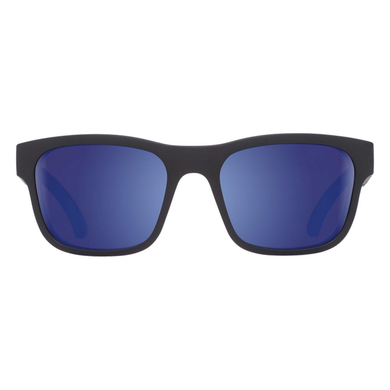 عینک آفتابی اسپای سری Hunt مدل Matte Black Navy Happy Bronze Polar Dark Blue Spectra -  - 1