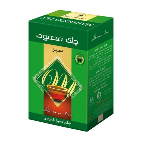 چای سبز چای محمود بسته 100 گرمی