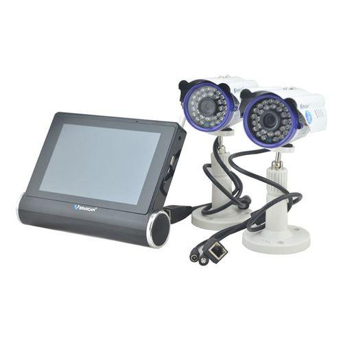 دوربین تحت شبکه وی استار کم مدل NVS-K200 به همراه صفحه نمایش