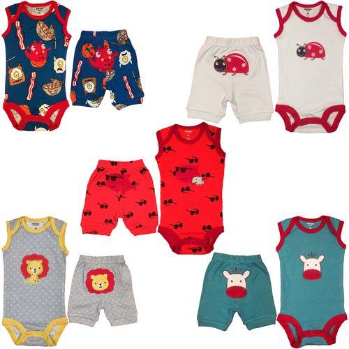 ست لباس نوزادی کارترز مدل 100550-1 مجموعه 10عددی