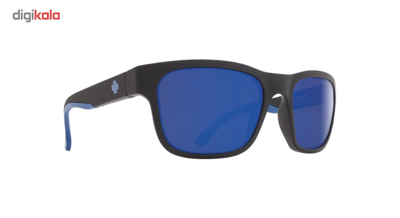 عینک آفتابی اسپای سری Hunt مدل Matte Black Navy Happy Bronze Polar Dark Blue Spectra -  - 2