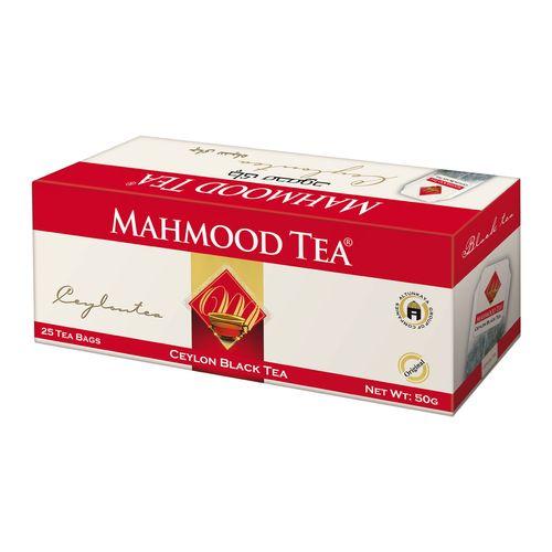 چای کیسه ای سیاه چای محمود بسته 25 عددی