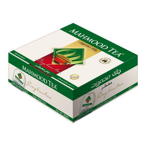 چای کیسه ای معطر چای محمود بسته 100 عددی