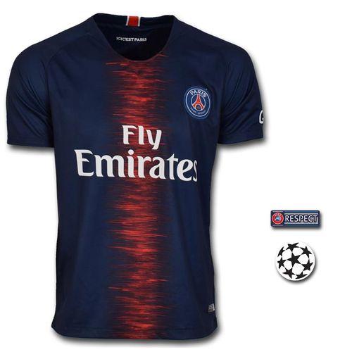 تی شرت ورزشی طرح نیمار مدل PSG18/19 به همراه تگ