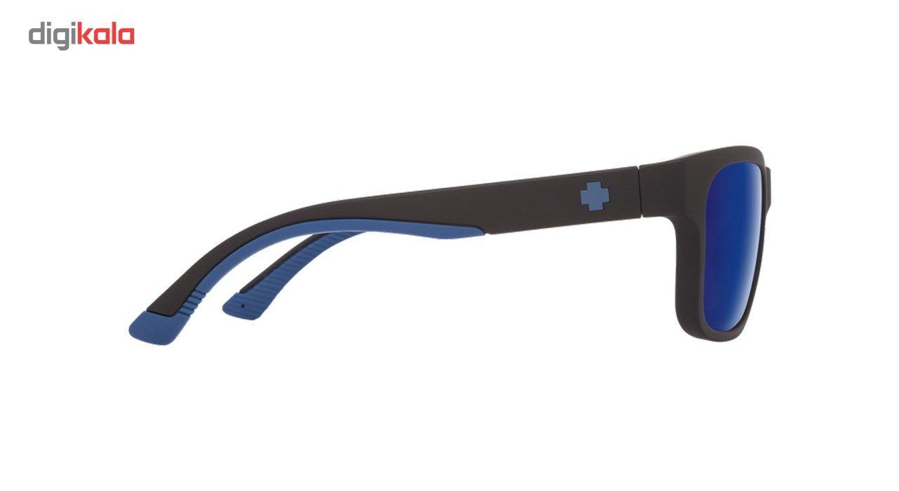 عینک آفتابی اسپای سری Hunt مدل Matte Black Navy Happy Bronze Polar Dark Blue Spectra -  - 3