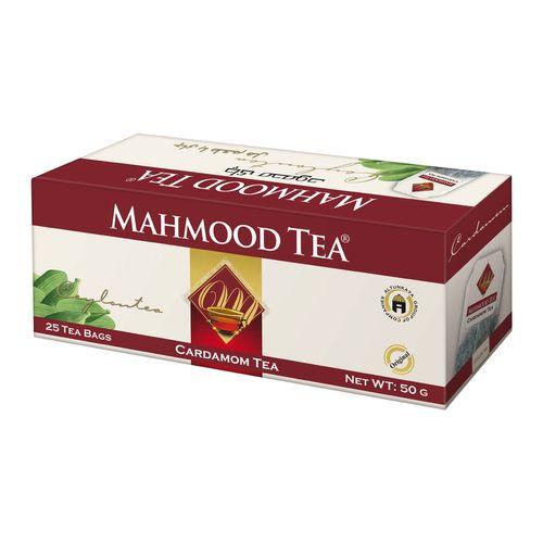 چای کیسه ای چای محمود با طعم هل بسته 25 عددی