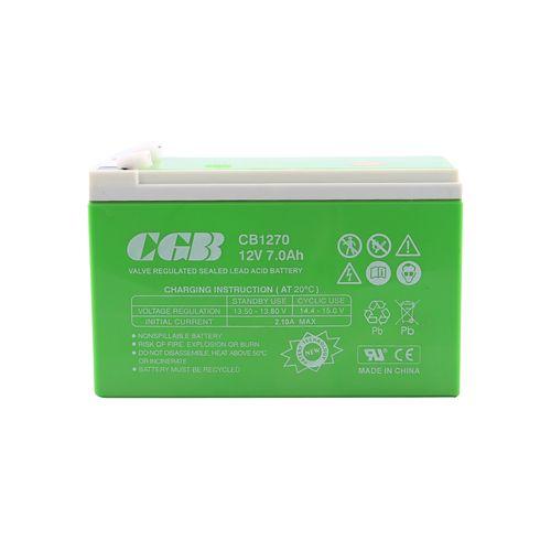 باتری یو پی اس 12 ولت 7 آمپر سی جی بی مدل CGB1270