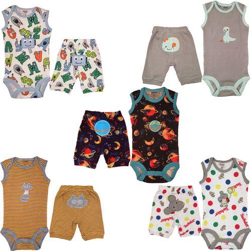 ست لباس نوزادی کارترز مدل 100550-9 مجموعه 10عددی