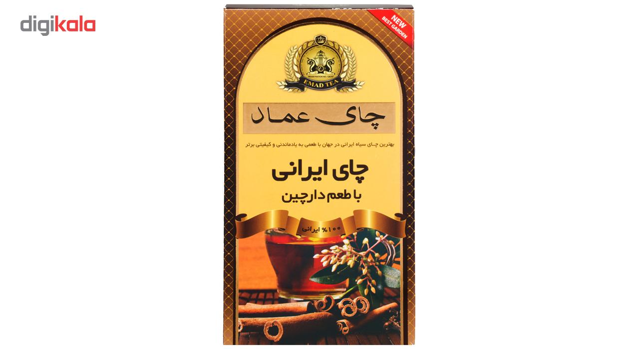 چای  ایرانی دارچین عماد 400 گرمی