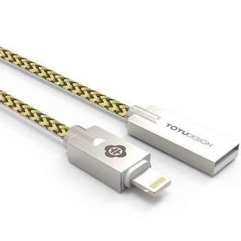 کابل تبدیل USB به لایتنینگ توتو مدل Joe به طول 1.2 متر