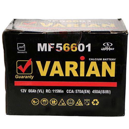 باتری اتمی خودرو مدل MF56601 واریان 66 آمپر