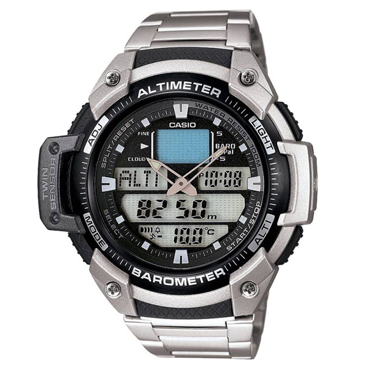 ساعت مچی دیجیتالی کاسیو مدل SGW-400HD-1BVDR