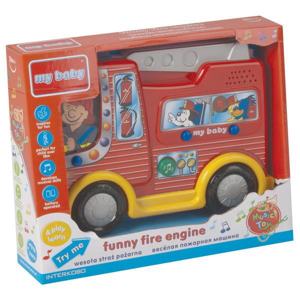 بازی آموزشی مای بیبی مدل Fire engine