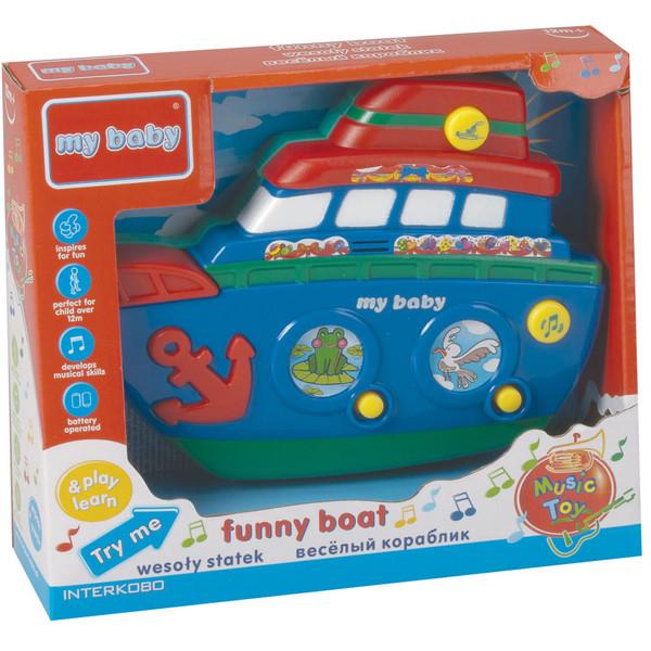 بازی آموزشی مای بیبی مدل Funny Boat