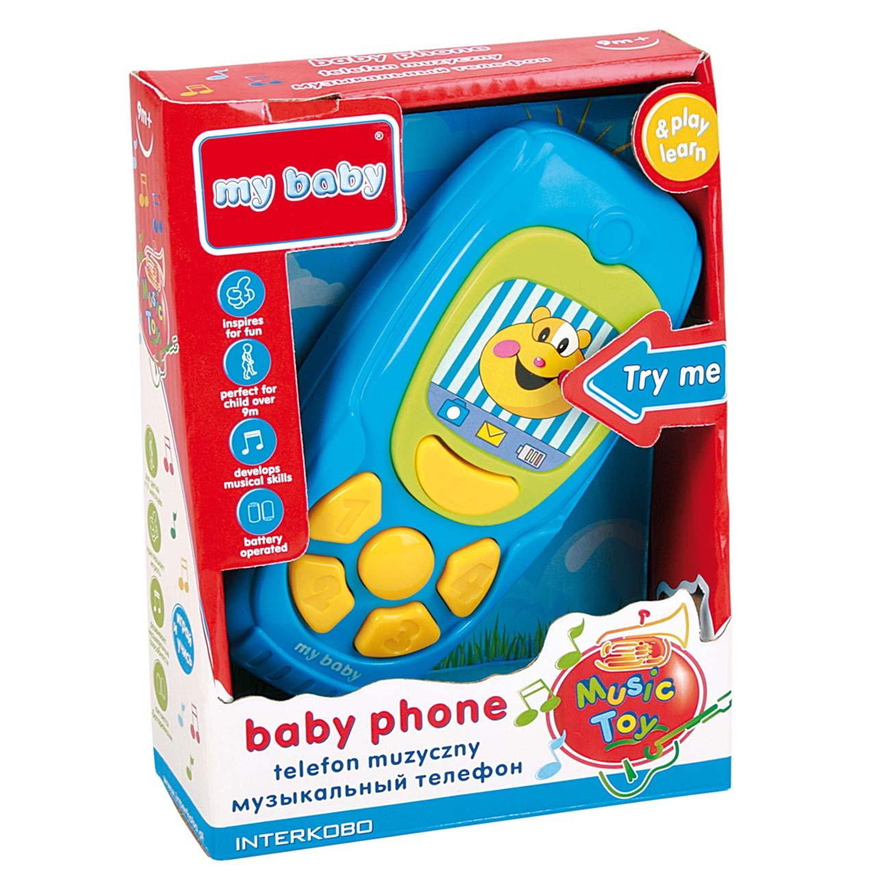 بازی آموزشی مای بیبی مدل Baby Phone