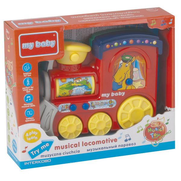 بازی آموزشی مای بیبی مدل Musical Locomotive