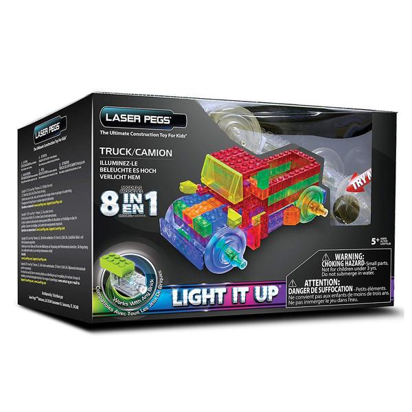 ماشین بازی لگو ساختنی برند لیزر پگز مدل 8IN1 لیزری