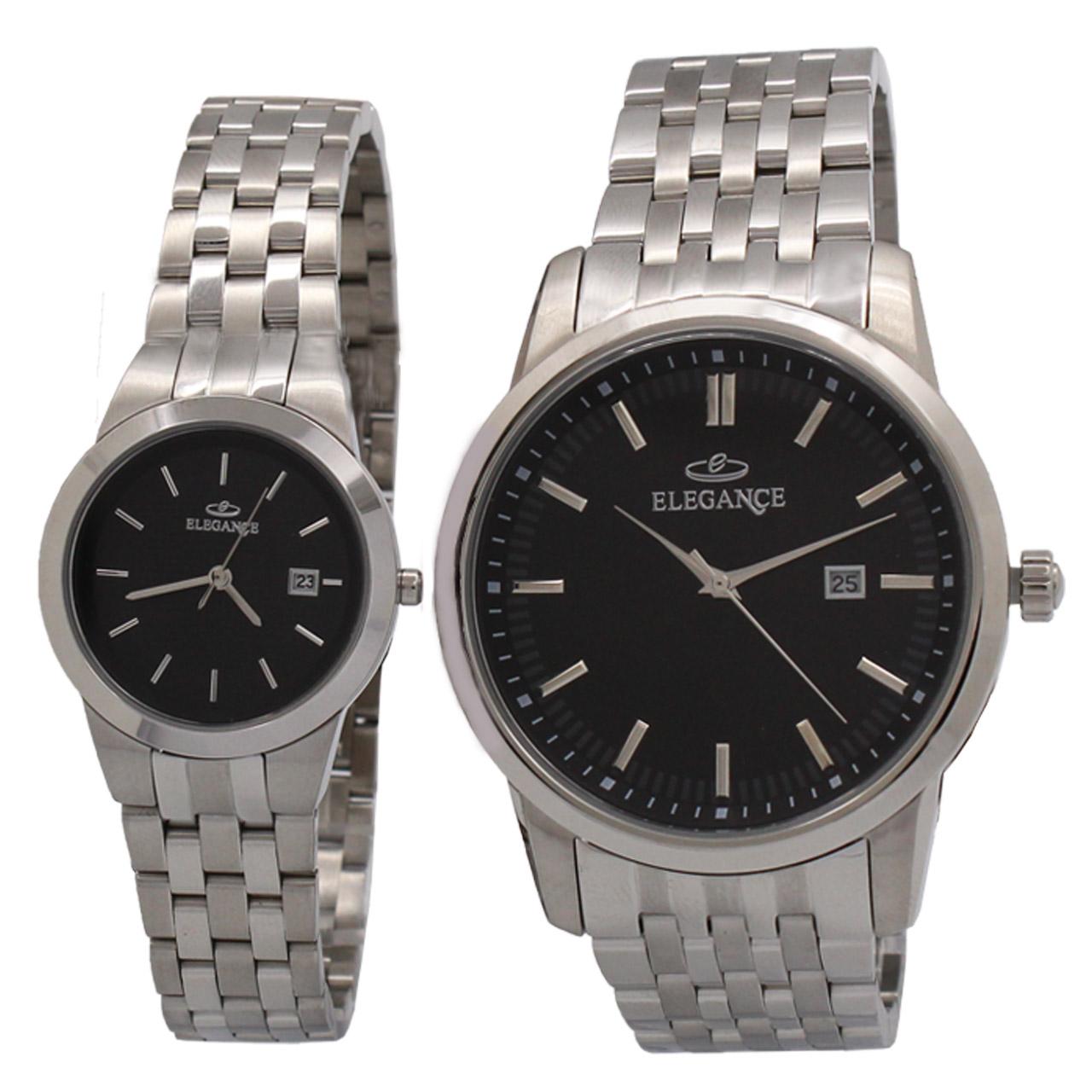 ساعت ست مردانه و زنانه الگانس مدل DGSU-0009