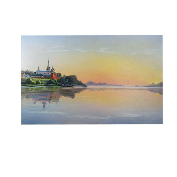 تابلو نقاشی رنگ روغن مدل طبیعت کد ۲۲