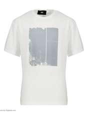 تیشرت آستین کوتاه مردانه گری مدل SEE THROUGH -  - 5