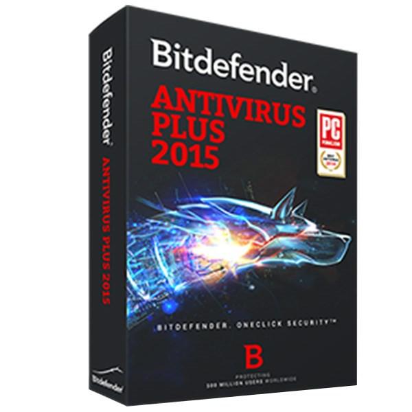 آنتی ویروس بیت دیفندر پلاس  2015 - یک کاربره -  یک ساله