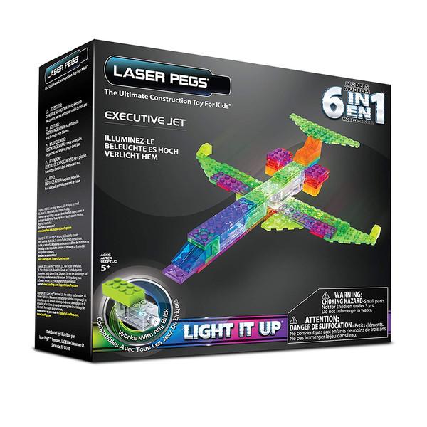 هواپیما لگو ساختنی برند لیزر پگز مدل 6IN1 لیزر