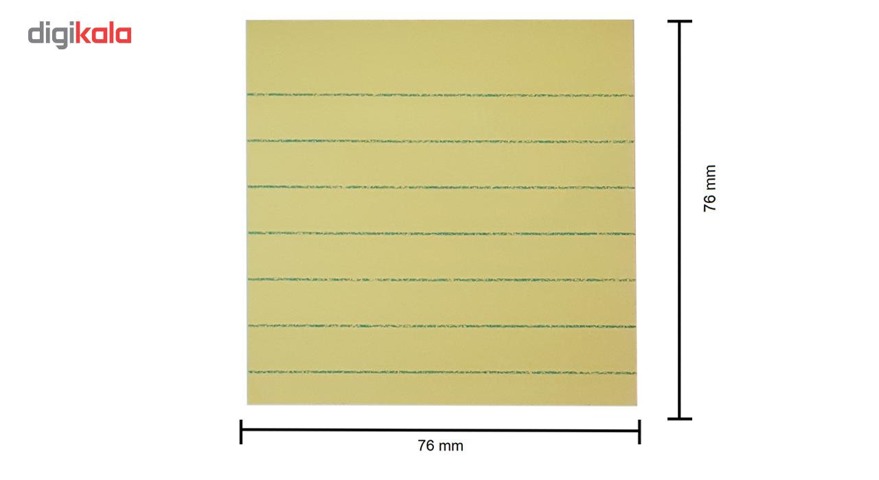 کاغذ یادداشت چسب دار استیک نوت مدل X03 به همراه خودکار پایلوت مدل BPS-GP