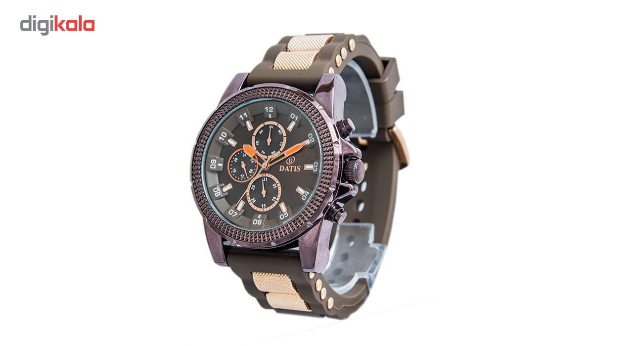 خرید ساعت مچی عقربه ای مردانه داتیس مدل 8079G-2