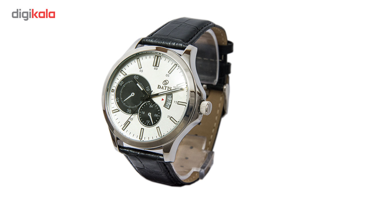 ساعت مچی عقربه ای مردانه داتیس مدل 8057G-1